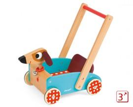 [자노드] 커지도기 걸음마장난감 강아지수레